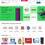 3% off Sitewide (Min Spend $30, Max Discount $100, 3 Transactions) @ eBay