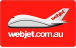15% off Webjet Gift Cards @ Paypal Digital Gifts eBay