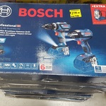 [SA] Bosch Pro 18V Cordless Brushless Kit: Hammer Drill, Impact Driver, LED Work Light, 3x 3Ah Batteries $299 @ Bunnings Marion