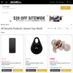 $20 off Sitewide with $100 Minimum Spend on All Products @ Secure Your World