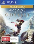 [PS4, XB1] Assassin's Creed: Odyssey Gold Edition $47 + Delivery or Click & Collect @ EB Games