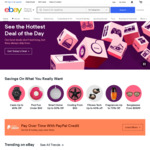 $5 off from Cart When Spending $10 or More @ eBay US