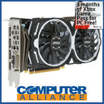 MSI Radeon RX 570 4GB Armor OC Video Card $179.10 + $15 Delivery (Free Delivery with eBay Plus) @ Computer Alliance eBay