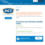 Free $10 Coupon Code for Existing G'day Rewards Members (Unique Code in E-Mail) @ BCF