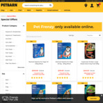 Up to 40% off Selected Items @ Petbarn + 10% Cashback @ Cashrewards