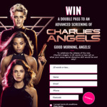 Win 1 of 130 VIP Advanced Screening Double Passes to Charlie's Angels Worth $50 from Daily Mail Australia