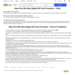 $50 eBay Gift Card When Signing up to eBay Plus $49 (1 Year Subscription) @ eBay