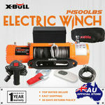X-BULL Electric Winch 14500LBS Wireless Remote Synthetic Rope off-Road 4WD $335.90 @ X-BULL eBay