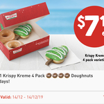 7 Eleven: $7.11 for 4-Pack of Krispy Kreme Doughnuts (Fuel Lock App Required)