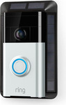 [eBay Plus] Ring Video Doorbell 1 and Ring Solar Mount Charger, $119 Delivered @ Ring on eBay