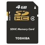 Only $5! 80% Off the Toshiba SD-K04GR6W4 SD Class 4 Memory Card! + $1 Shipping!
