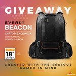 Win an Everki Beacon Laptop Backpack with Gaming Console Sleeve Worth $149 from Centre Com