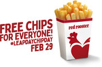 Free Regular Chips (In-Store) @ Red Rooster
