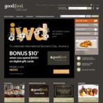 Bonus $10 with Purchase of $100 Digital Gift Card @ Good Food