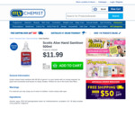 Scotts Instant Hand Sanitiser 500ml $11.99 + Delivery @ My Chemist or Chemist Warehouse [Online Only]