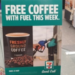 Free Regular Coffee with Fuel Purchase This Week @ 7-Eleven
