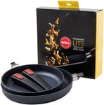 40% off Woll Cookware e.g. Diamond Lite Induction 24/28cm Fry Pan Set 2pce $377.97 Delivered @ David Jones