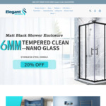 $20 off Orders over $550 | Up to 20% off Shower Screens @ Elegant Showers