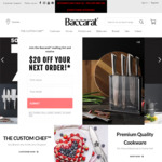 50% - 70% off Sitewide Free Shipping over $99 @ Baccarat