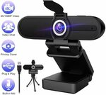 ZIQIAN W8A 4K Webcam 1080P $89.98 Delivered @ Zi Qian via Amazon AU