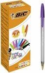 BIC Cristal Multicolour Fashion Pens 20 Pack $6.01 / $5.41 (Sub & Save) + Delivery ($0 with Prime/$39 Spend) @ Amazon Australia