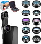 Apexel 10 in 1 Cell Phone Camera Lens Kit $18.38 (20% off) + Delivery ($0 with Prime/ $39 Spend) @ Aipai Optic via Amazon AU
