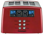 Cuisinart Touch to Toast Leverless 4 Slice Toaster Red CPT-440MRXA $75 (Was $129) Delivered @ Myer eBay