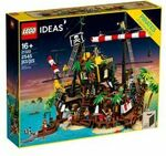 LEGO Ideas Pirates of Barracuda Bay 21322 $279 ($237.15 with 15% credit AmEx Offer) + Free Express Delivery @ Toy R Us