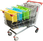 70% off RRP - Karlstert Sort & Carry Shopping Trolley Bags 4 Piece Set $16 (RRP $55) + Delivery @ Peter's of Kensington