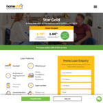 Homestar Star Gold Home Loan 1.79% Owner Occupier Variable 60% LVR