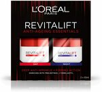 L'oréal Paris Revitalift Classic Day and Night Cream Gift Set $16.24 + Delivery ($0 with Prime or $39 Spend) 50ml X2 @ AmazonAU