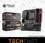 MSI B450M Mortar MAX AM4 M-ATX AMD Motherboard $125 + $9.99 Postage @ Techfast eBay