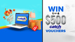 Win 1 of 4 $500 Catch Vouchers from Nine Network