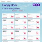 Virgin Happy Hour Sale: Flights from $75 eg MEL to Newcastle @ Virgin Australia