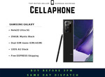 Samsung Galaxy Note20 Ultra 5G 256GB - Mystic Black (AU Stock) - $1499 Delivered @ CellAphone