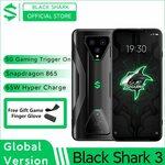 Xiaomi Black Shark 3 (Global Version) 5G SD865, 8GB, 128GB US$438.90 (A$569.14) Shipped @ Black Shark Official AliExpress