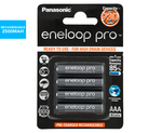 25% off Panasonic Eneloop/Pro AA/AAA + Shipping (Free Shipping w/ Club Catch) @ Catch