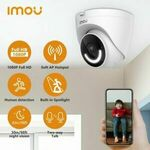 Imou Turret Wi-Fi 1080p Outdoor Camera with Spotlight & Siren $69.99 Delivered @ imou eBay