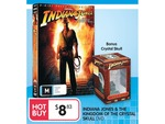Indiana Jones KotCS DVD Collector's Edition with Bonus Crystal Skull Statue - $8.83 Big W