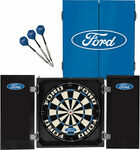 Official Licensed Ford Dartboard and Cabinet Set $109 + $9.99 Delivery ($0 C&C/ in-Store) @ Supercheap Auto