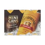 Bundaberg Ginger Beer 6x 200ml Mini Can $3.45 @ Coles
