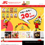 [VIC] 20% off Sitewide (Minimum $50 Order) + Delivery ($0 with $150 Spend) @ JFC Online