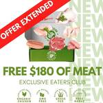 Organic & Grass Fed Meat Box Delivery Subscription: Bonus Meat over First 3 Boxes (Worth $180) with $199 Spend @ Our Cow