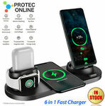 30% off 6 in 1 Wireless Charger Stand for Apple/Samsung $27.97 Delivered @ Protec.online eBay