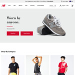 New Balance: 30% off Full Priced / Clearance Clothing + 20% Upsized Cashback with ShopBack