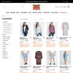 Further 30% off Rivers Clearance (Online Only) + $10 Delivery (Free with $100 Spend) @ Rivers