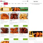 $1 Wing Wednesdays (in 6, 12 or 24-Pack) / 3 Large Pizzas + 3 Sides $35.95 Delivered - Pizza Hut