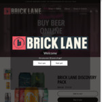 25% off + Flat Rate Delivery $6.50 VIC, $15 Elsewhere @ Brick Lane Brewery