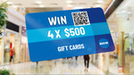 Win 1 of 4 $500 Big W Gift Cards from Nine Network