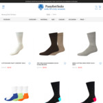 10 Pair Bamboo Work Socks $59.95, Men's Business Socks $8.95 & More + Delivery (Free with $60 Spend) @ Pussyfoot Socks